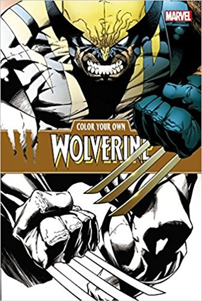 Colour Your Own Wolverine | Tuggl
