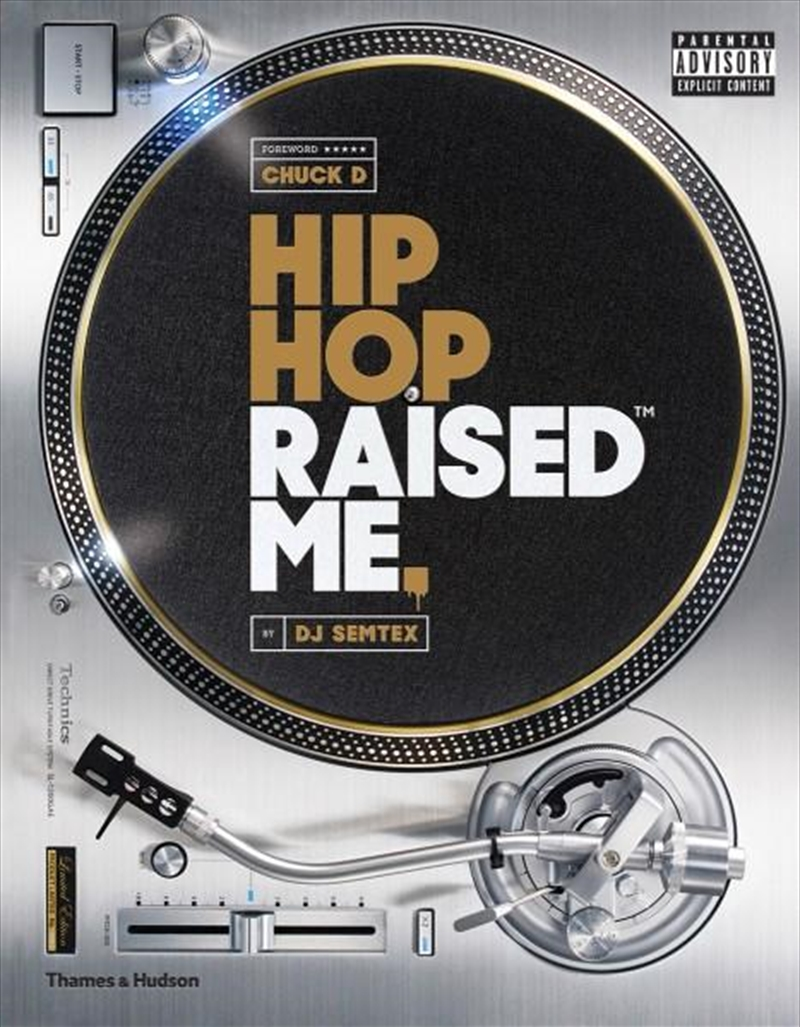 Hip Hop Raised Me | Hardback Book