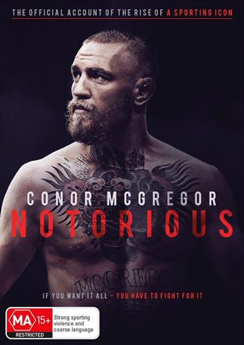 Conor Mcgregor: Notorious | DVD