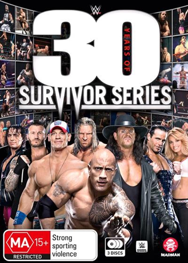 WWE - 30 Years Of Survivor Series | DVD