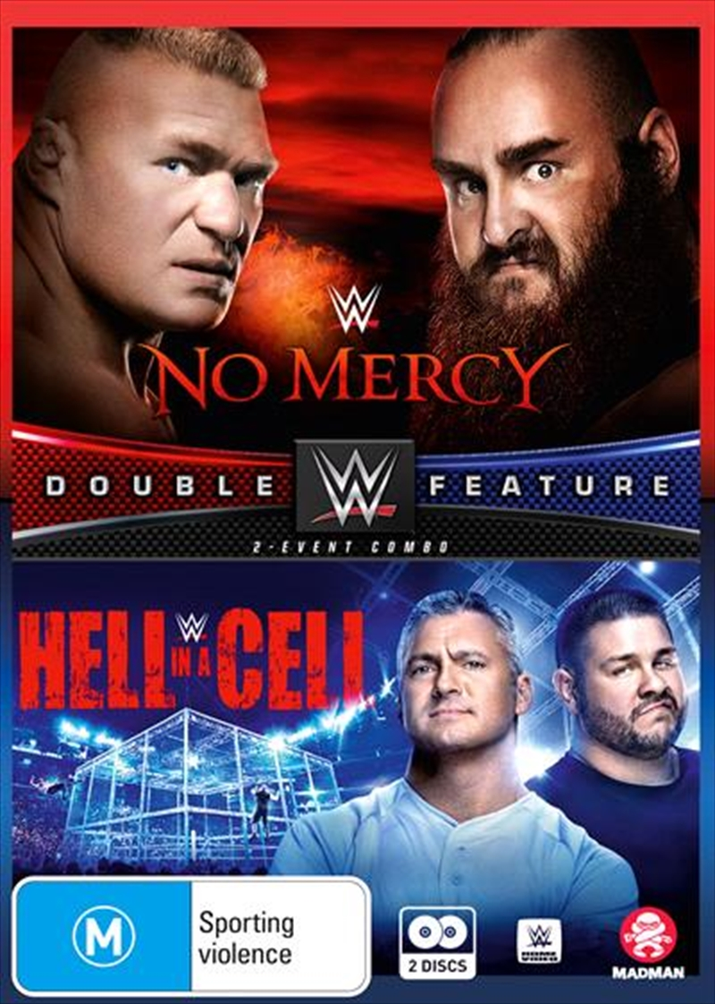 WWE - No Mercy / Hell In A Cell 2017   DVD