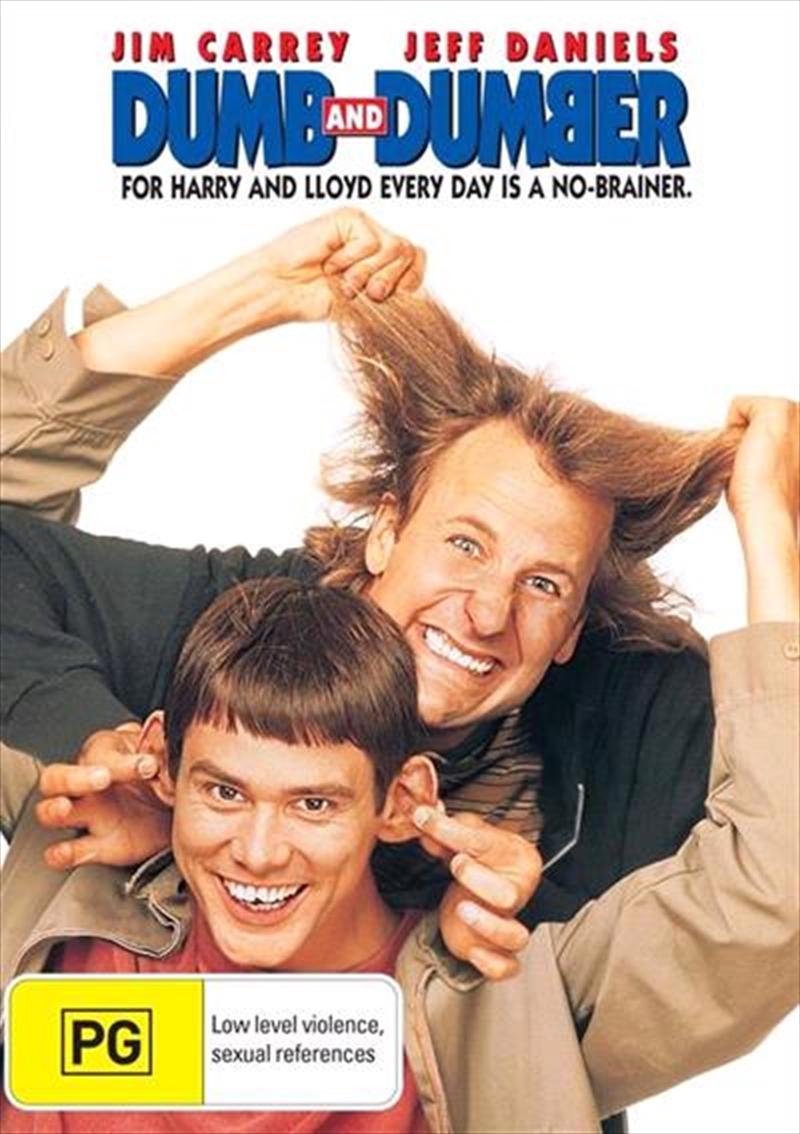 Dumb And Dumber: Pg 1994 | DVD