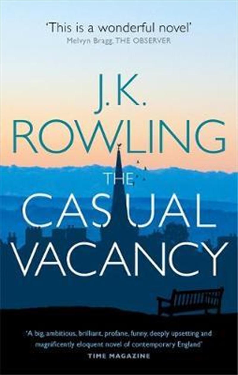 Casual Vacancy   Paperback Book
