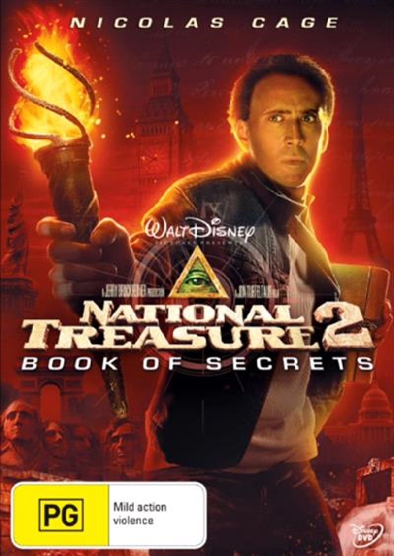 National Treasure 2: Book Of Secrets | DVD