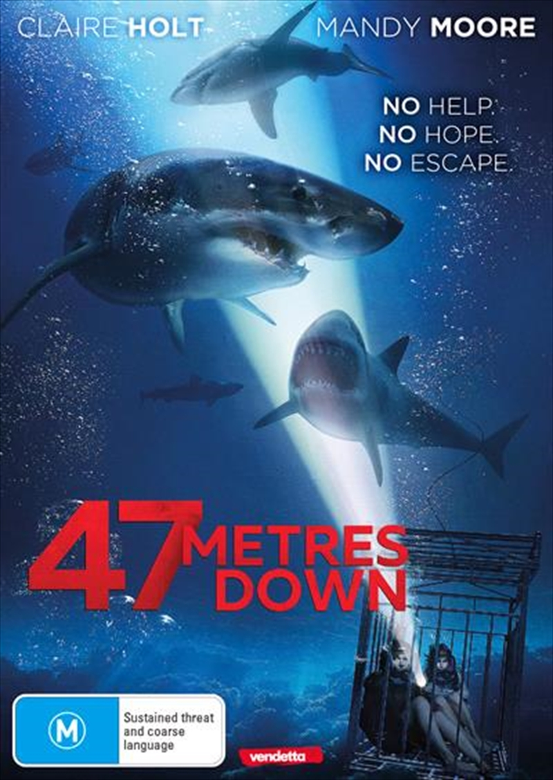 47 Metres Down (Meters) | DVD