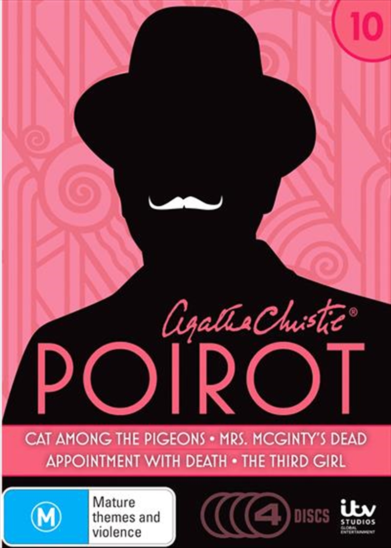 Agatha Christie - Poirot - Season 10   DVD
