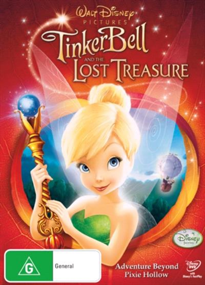 Tinker Bell And The Lost Treasure | DVD