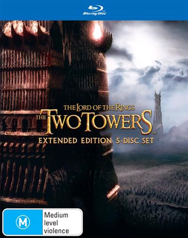 Lord Of The Rings: The Two Towers Extended Edition | Blu-ray