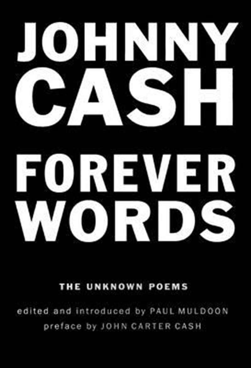 Forever Words: Unknown Poems   Hardback Book