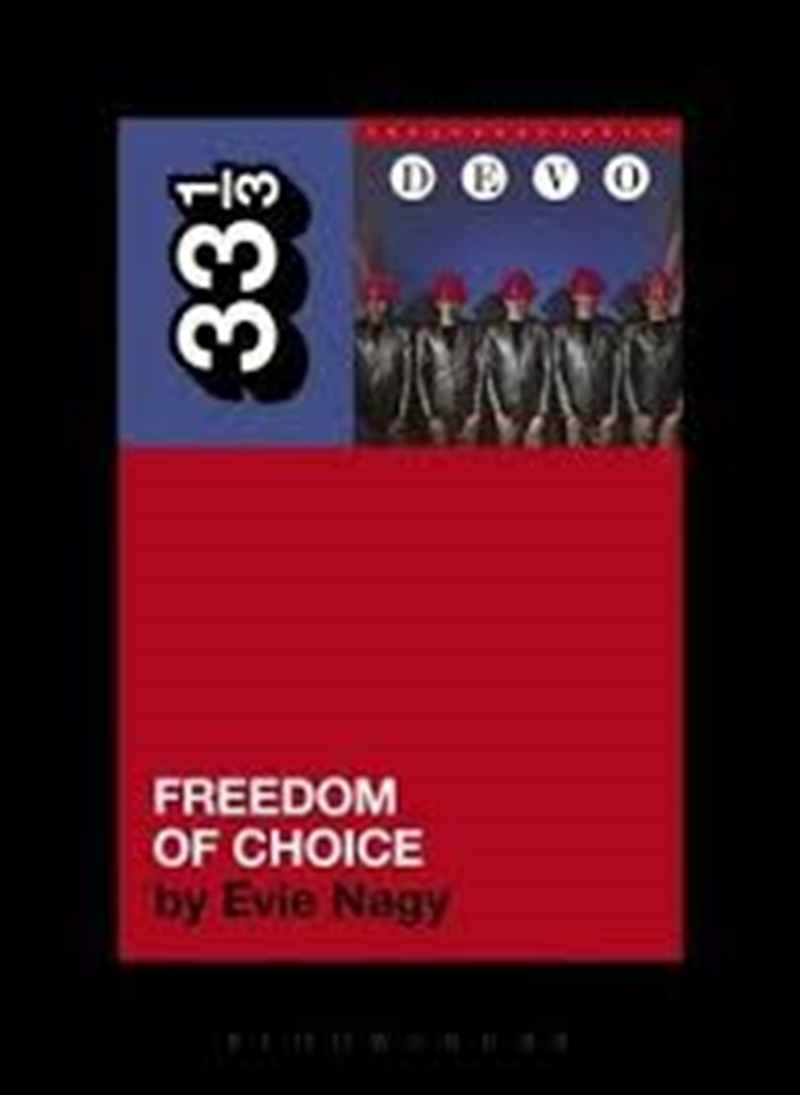 Devo's Freedom of Choice | Paperback Book