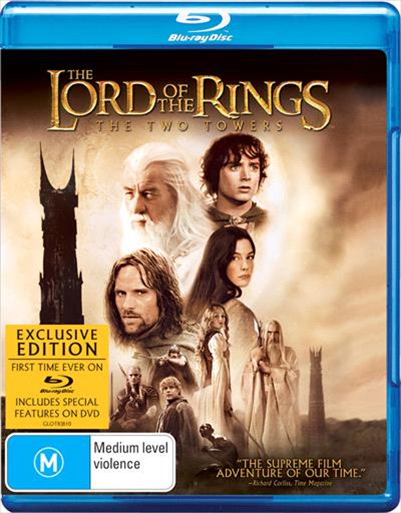 Lord of The Rings: Two Towers | Blu-ray