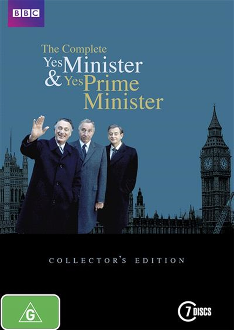 Yes Minister & Yes Prime Minister Complete Boxset | DVD