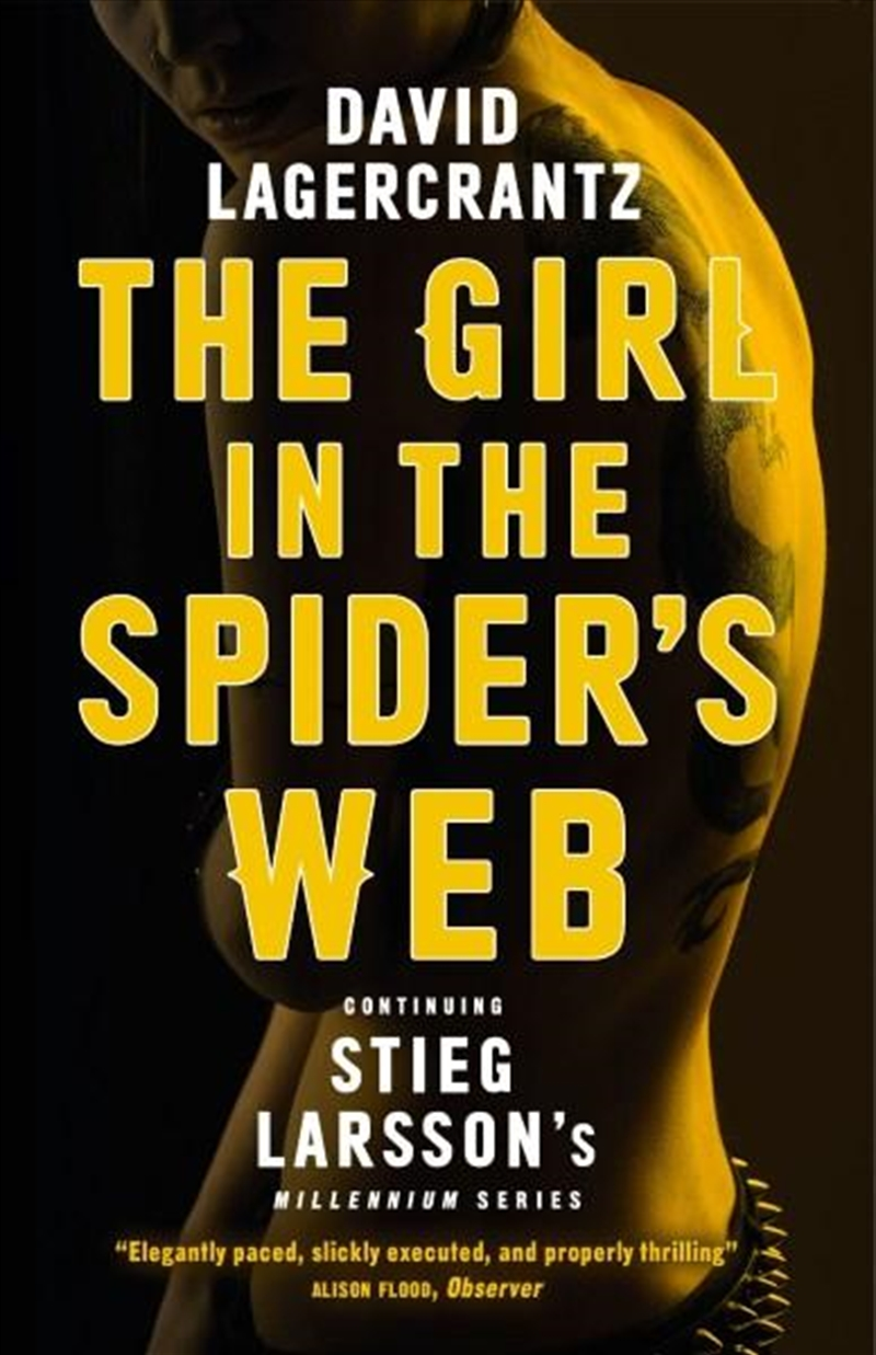Girl In The Spiders Web | Paperback Book