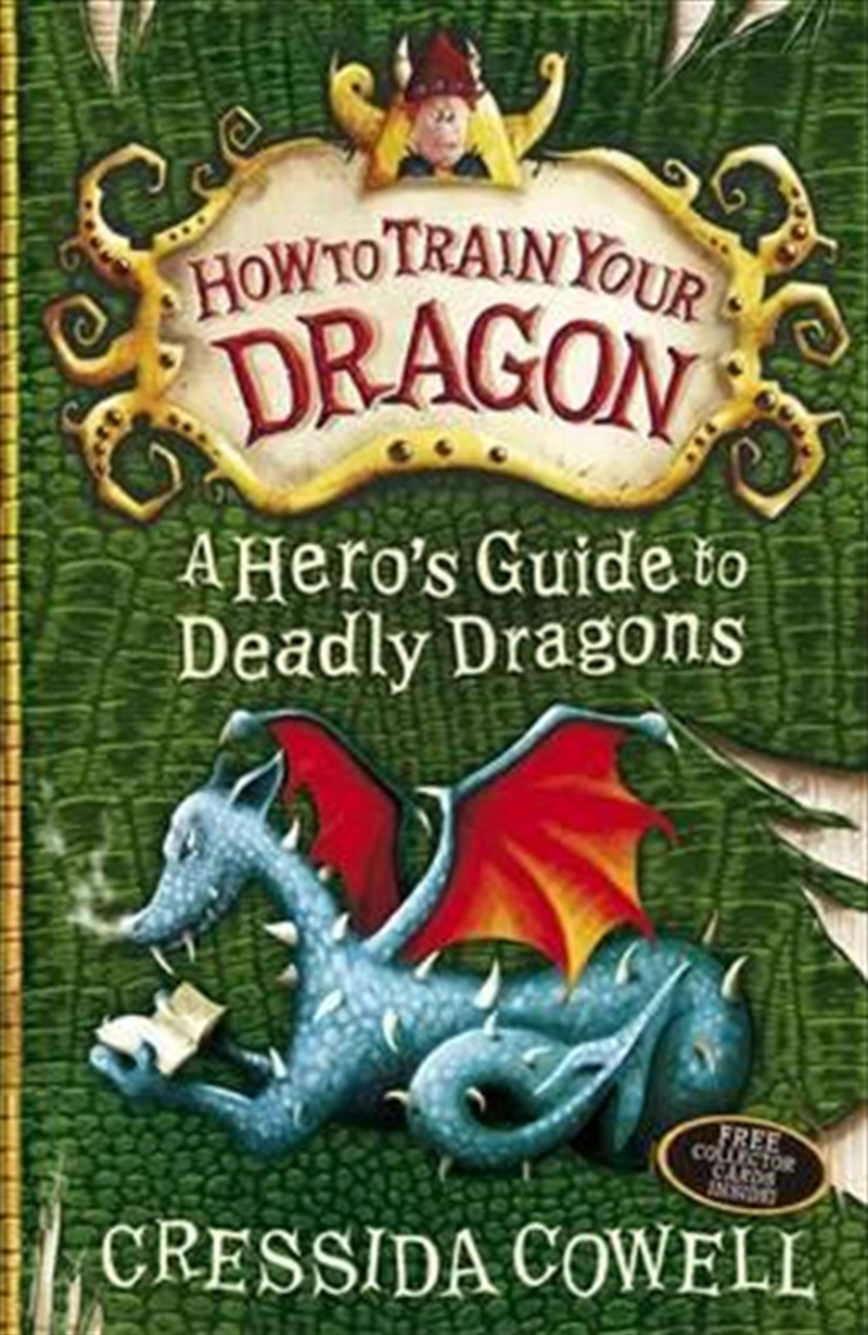 How to Train Your Dragon: A Hero's Guide to Deadly Dragons   Paperback Book