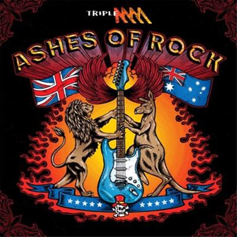 Triple M Ashes of Rock | CD