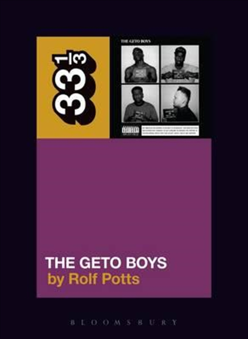 Geto Boys' The Geto Boys | Paperback Book