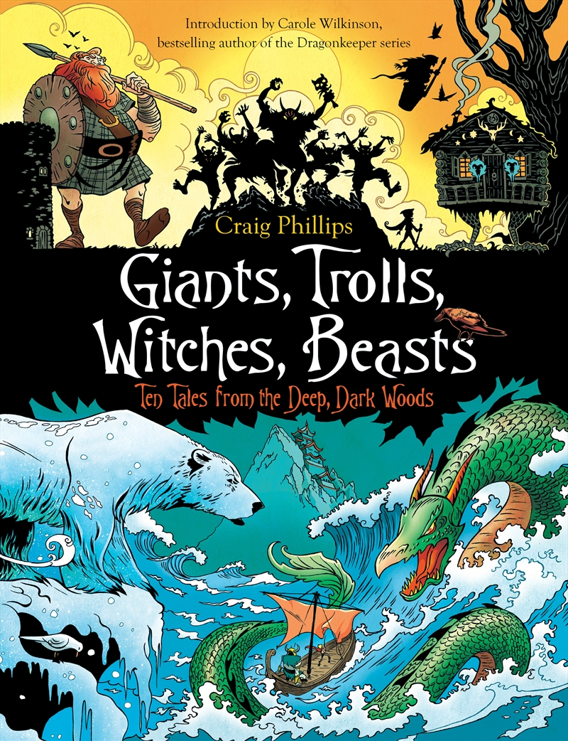 Giants, Trolls, Witches, Beasts | Paperback Book