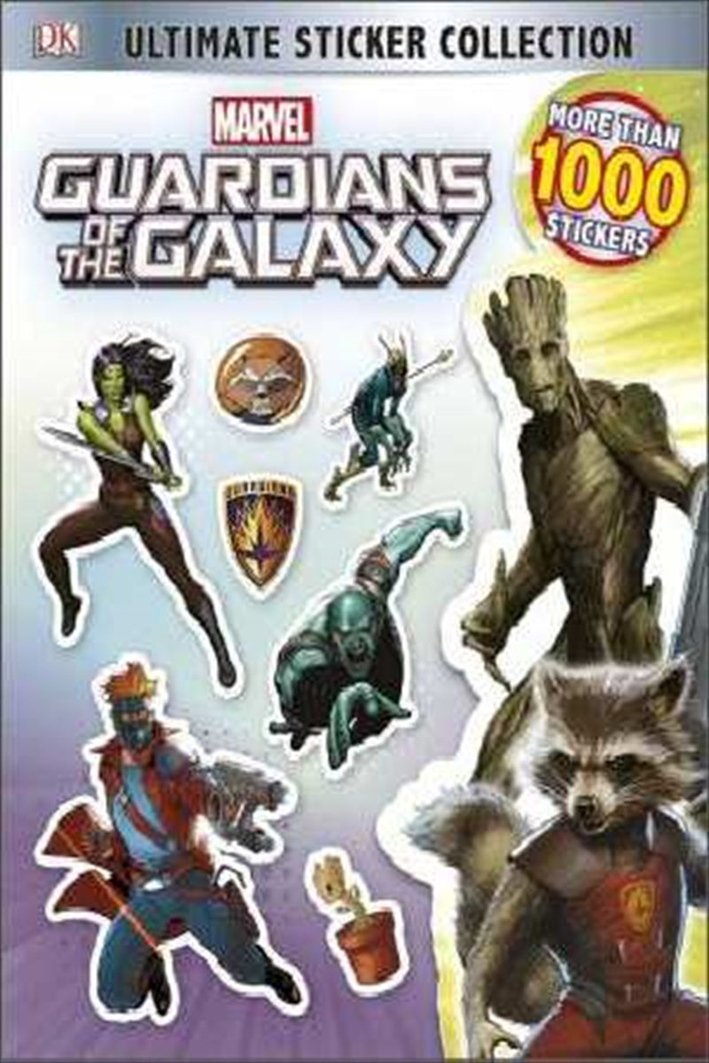 Marvel : Guardians of the Galaxy - Ultimate Sticker Collection | Paperback Book