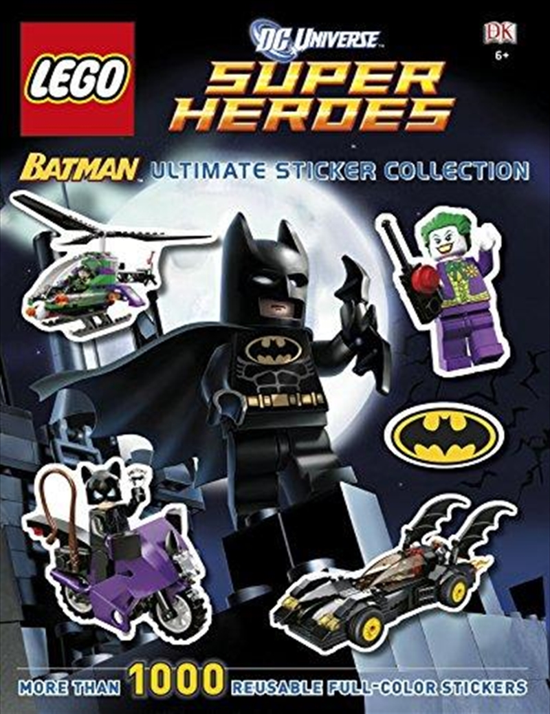 Lego Dc Universe Super Heroes: Batman: Ultimate Sticker Collection | Paperback Book