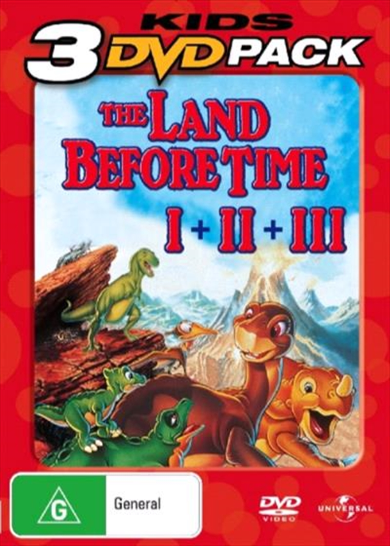 Land Before Time / The Great Valley Adventure / The Time of the Great Giving | DVD