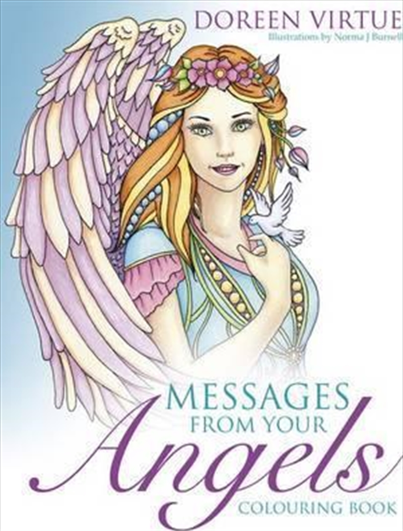 Messages from your Angels Colouring Book | Paperback Book