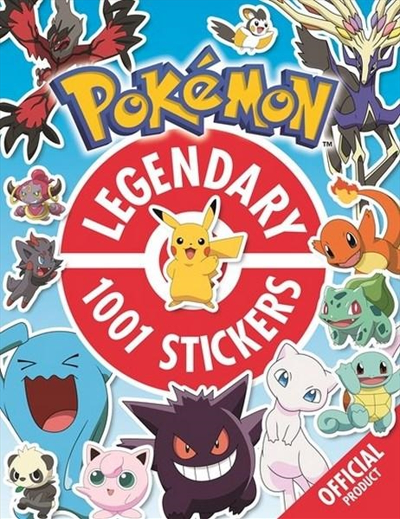 The Official Pokemon Legendary | Paperback Book