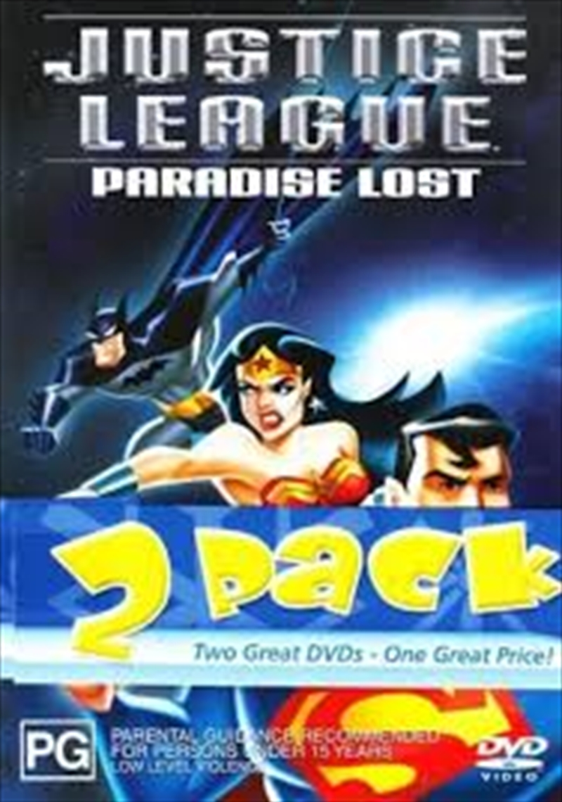 Justice League - Justice On Trial / Paradise Lost | DVD