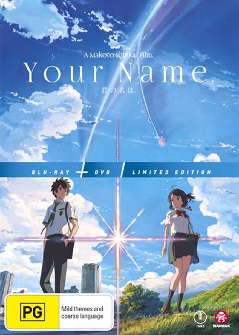 Your Name Blu Ray