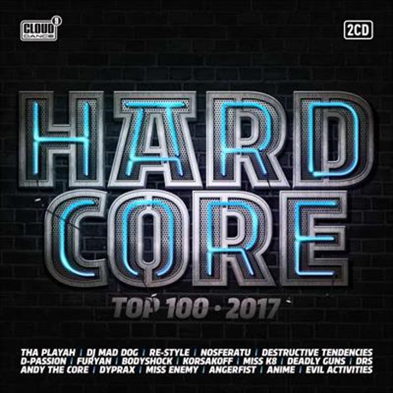 Hardstyle Top 100: 2017   CD