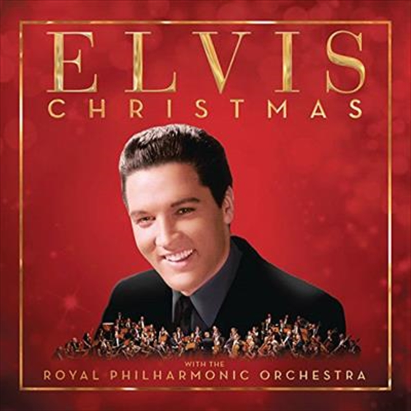 Christmas With Elvis Presley And The Royal Philharmonic Orchestra (Deluxe RED) | CD