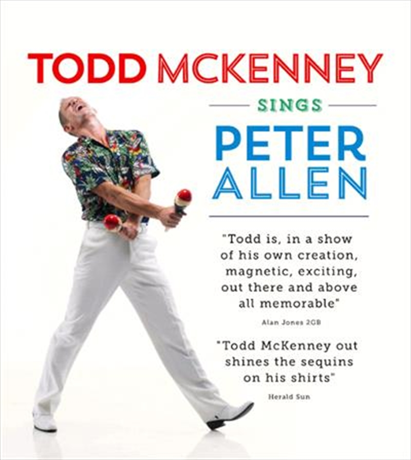 Todd Mckenney Sings Peter Allen | CD