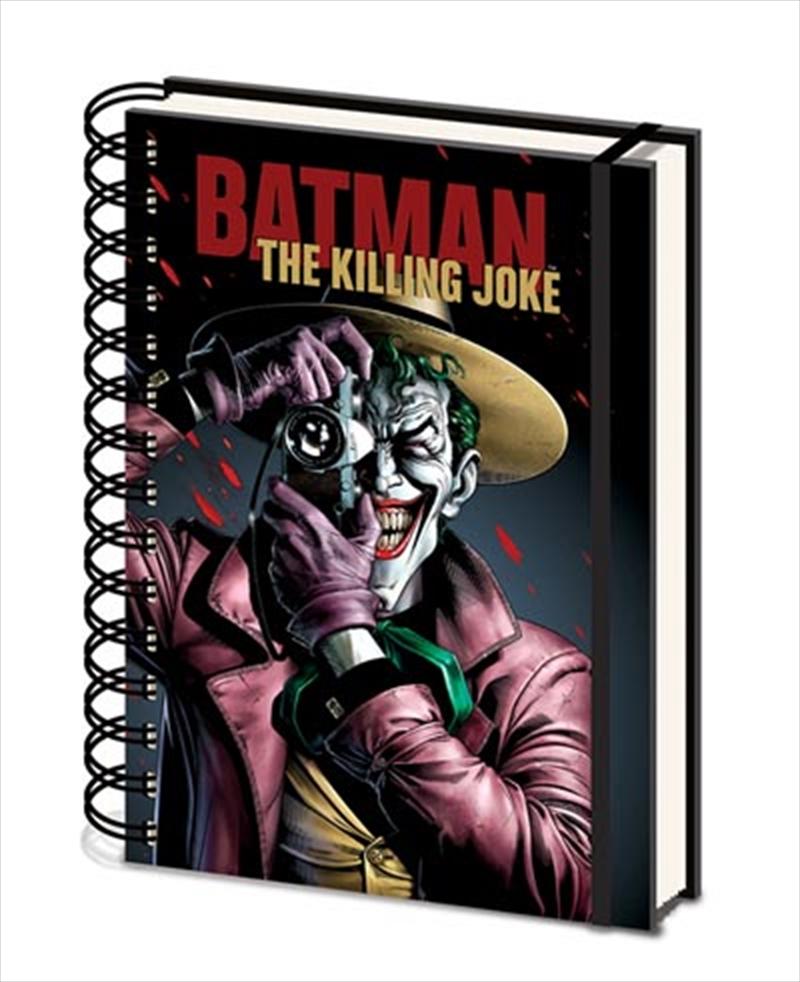 Killing Joke A5 Notebook   Merchandise