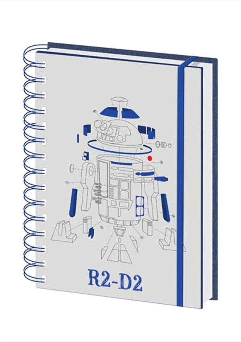R2d2 A5 Notebook | Merchandise