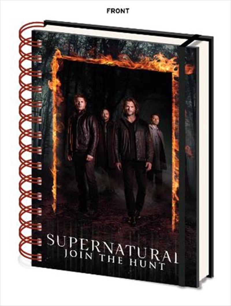 Burning Gate A5 Notebook | Merchandise