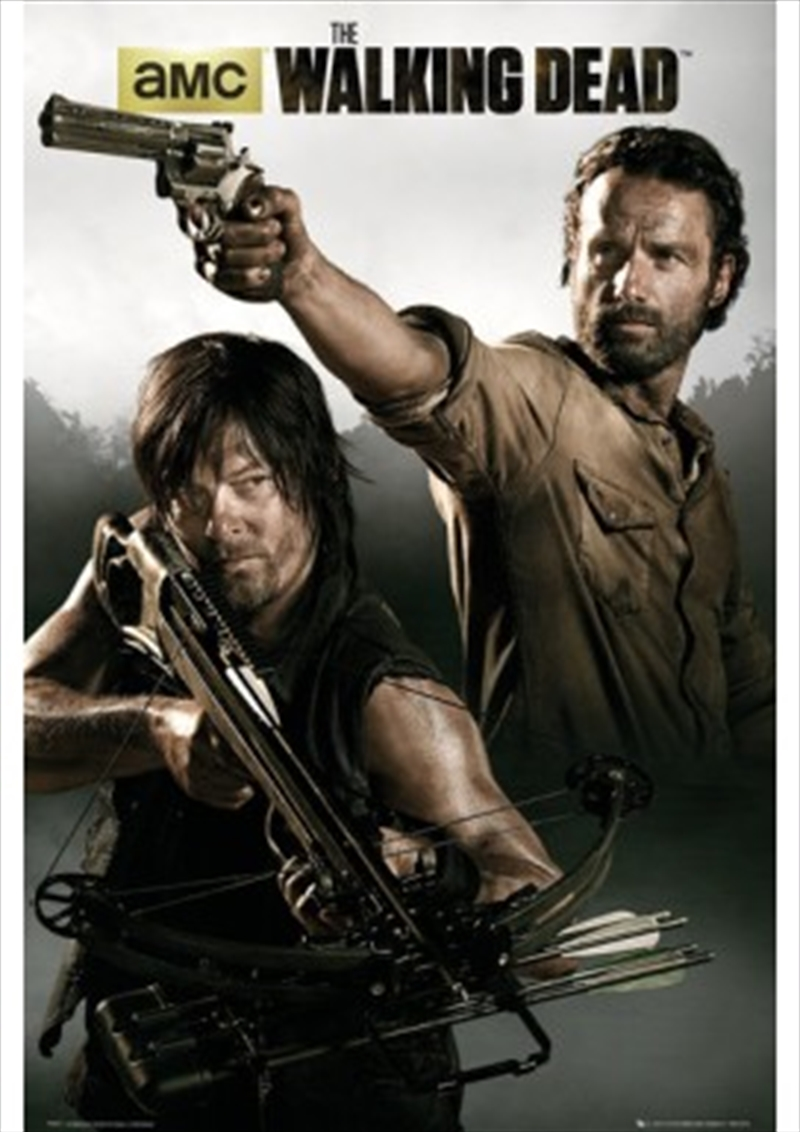 The Walking Dead Rick and Daryl Banner | Merchandise