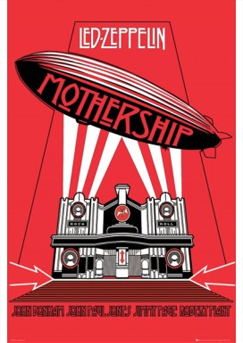 Led Zeppelin Mothership Posters Amp Prints Merchandise Sanity
