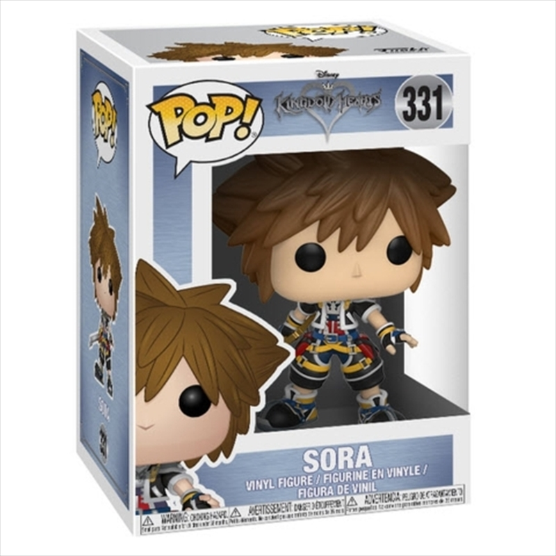 Kingdom Hearts - Sora | Pop Vinyl