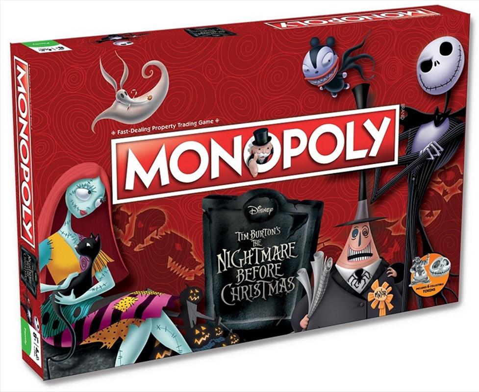 Nightmare Before Christmas Monopoly | Merchandise
