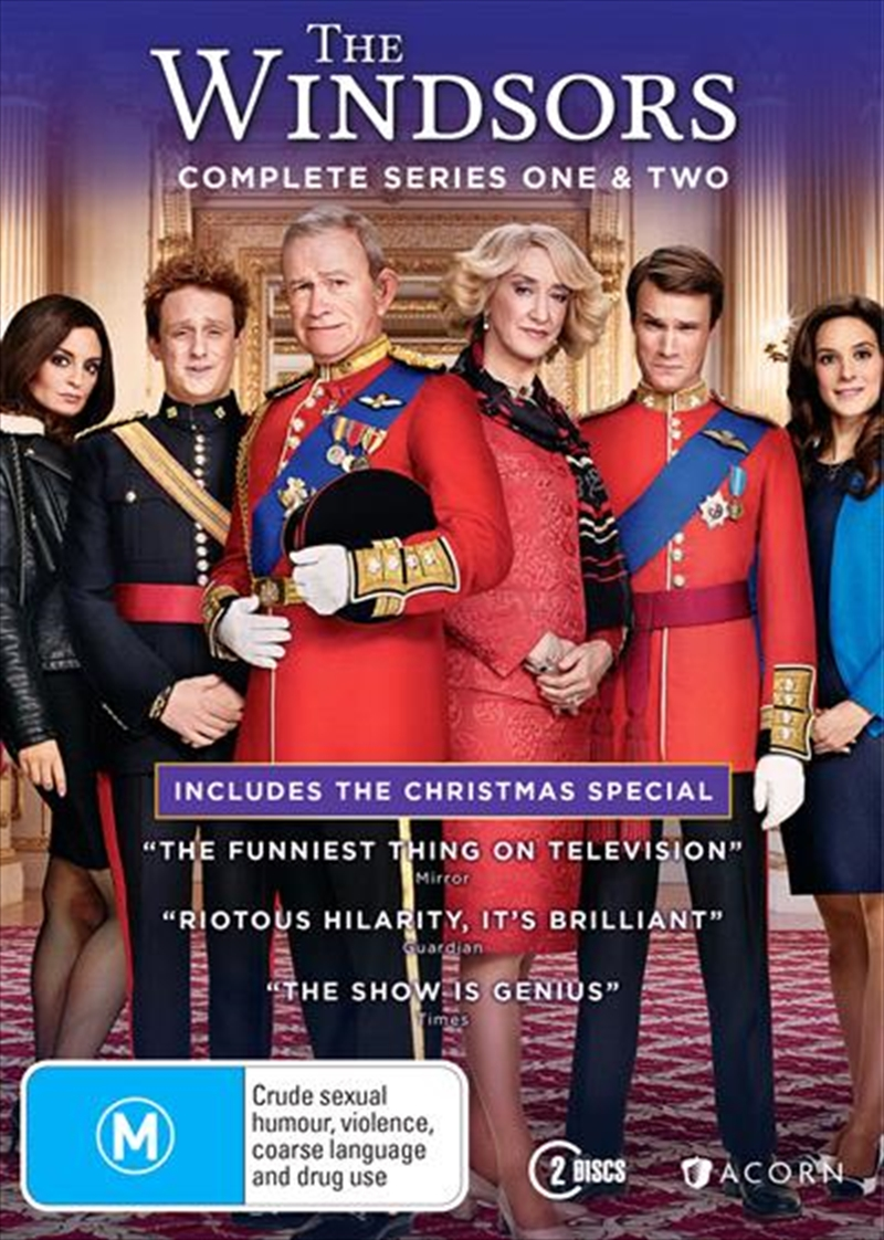 Windsors - Series 1-2, The | DVD
