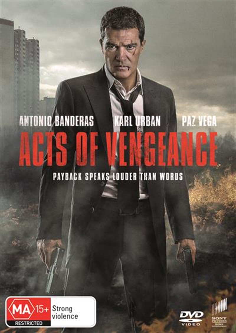 Acts Of Vengeance | DVD