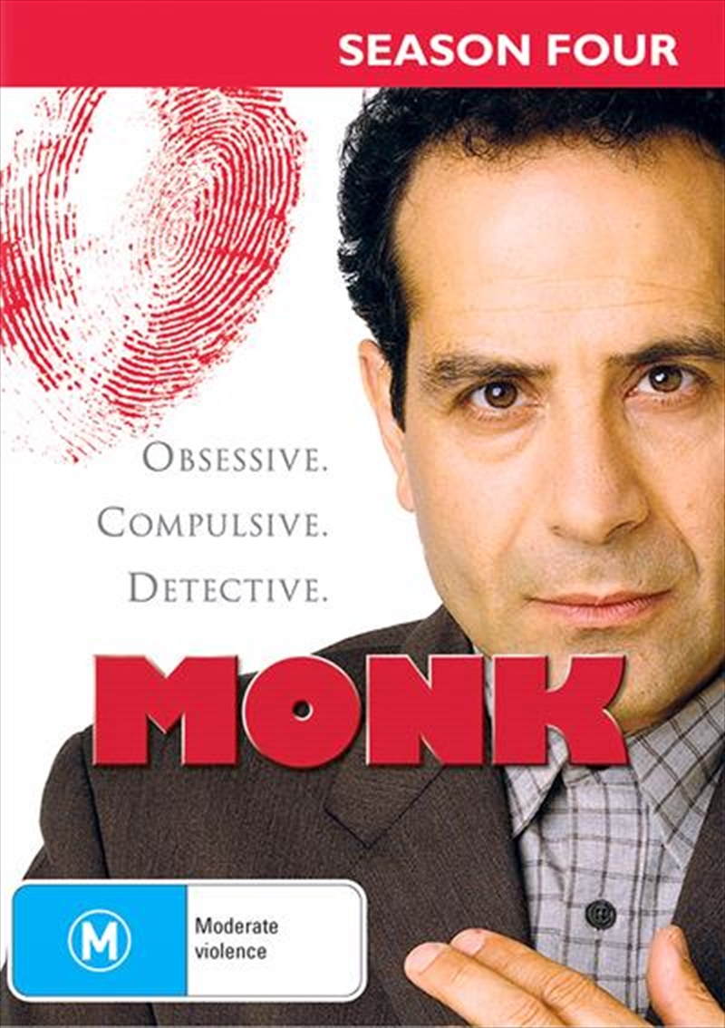 Monk - Season 4 | DVD