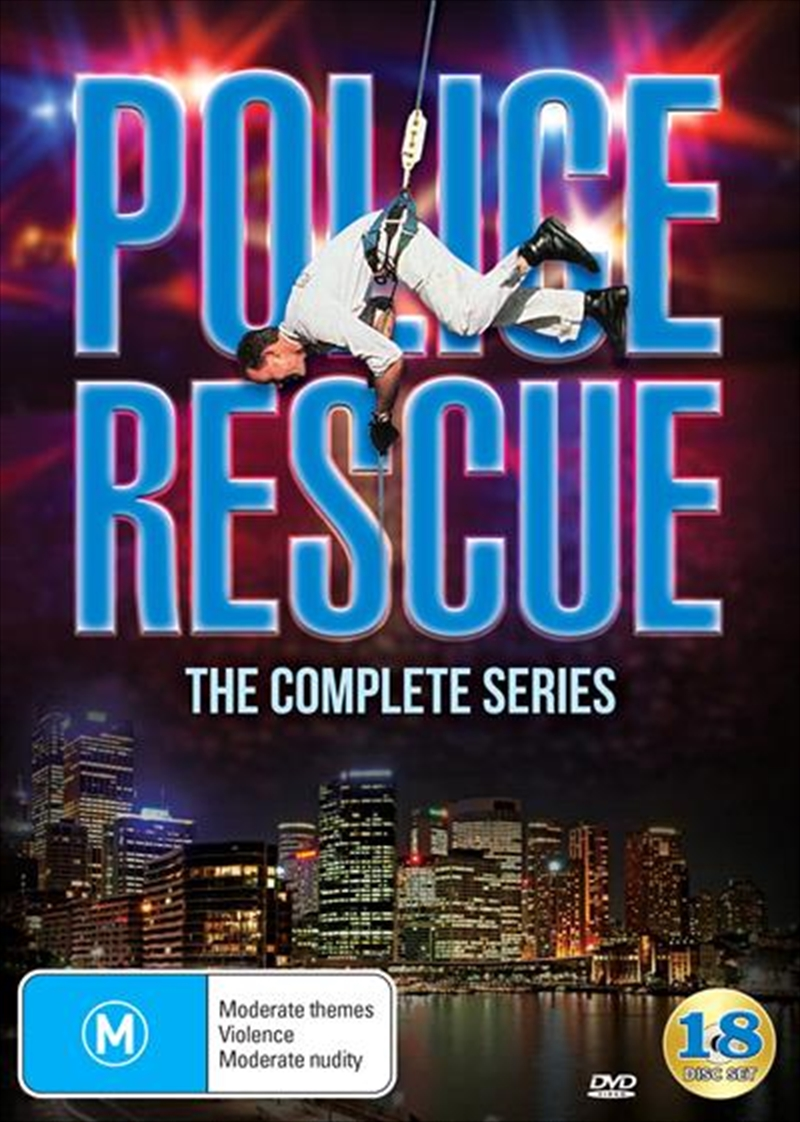 Police Rescue - Season 1-5 | Series Collection | DVD