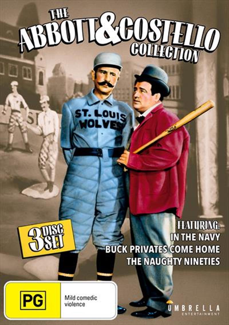 Abbott & Costello Collection   DVD