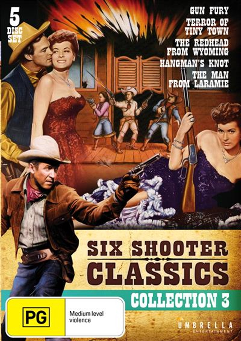 Six Shooter Classics Western Collection 3 | DVD