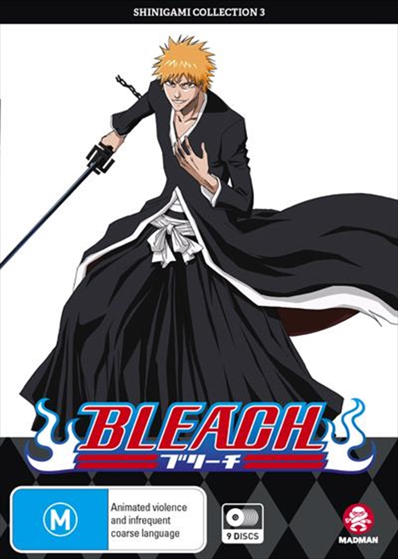 Bleach Shinigami - Collection 3 - Eps 80-121 | DVD