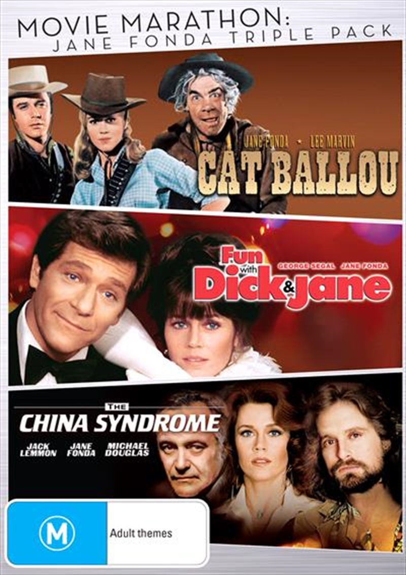Cat Ballou/Fun With Dick & Jane/China Syndrome | DVD