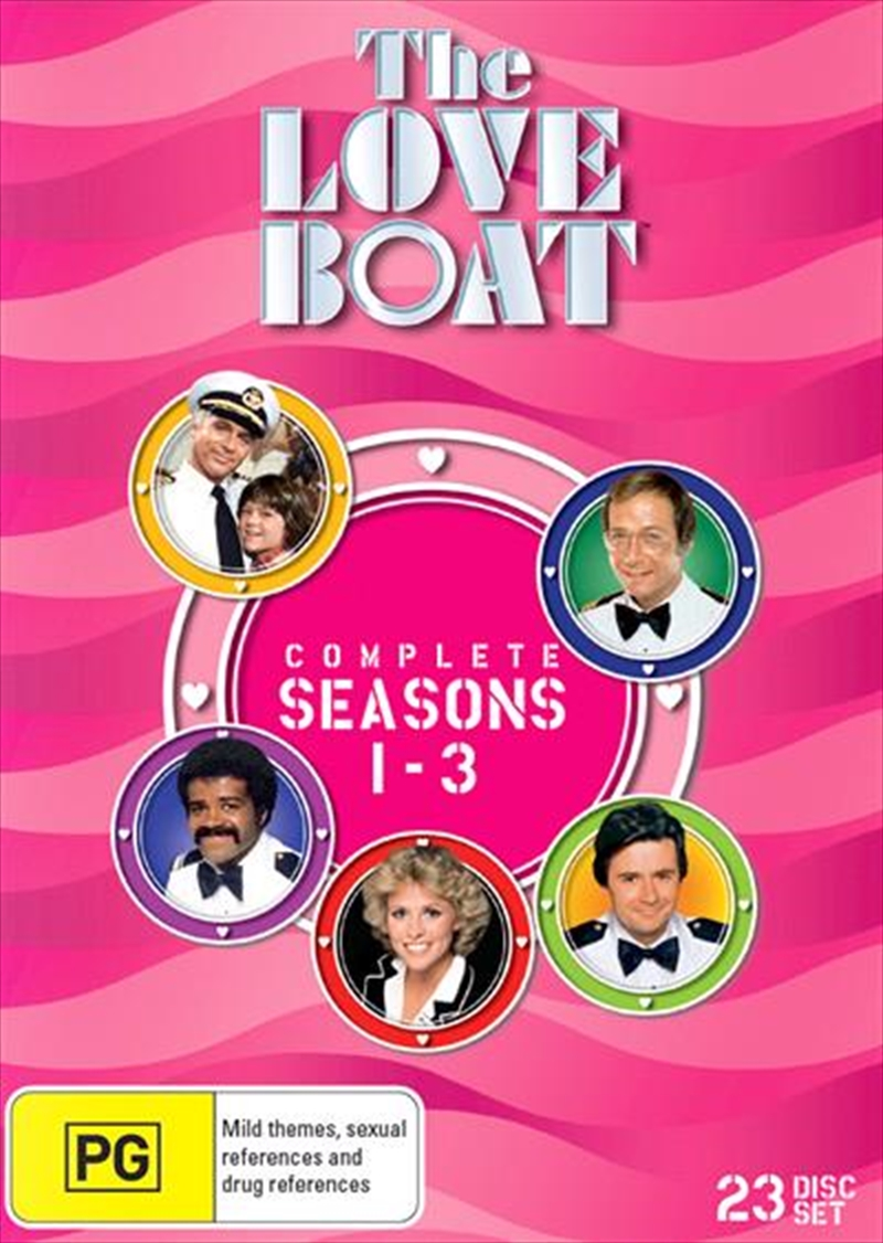 Love Boat - Season 1-3 | Collection, The | DVD