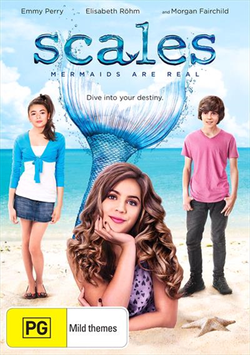 Scales - Mermaids Are Real   DVD