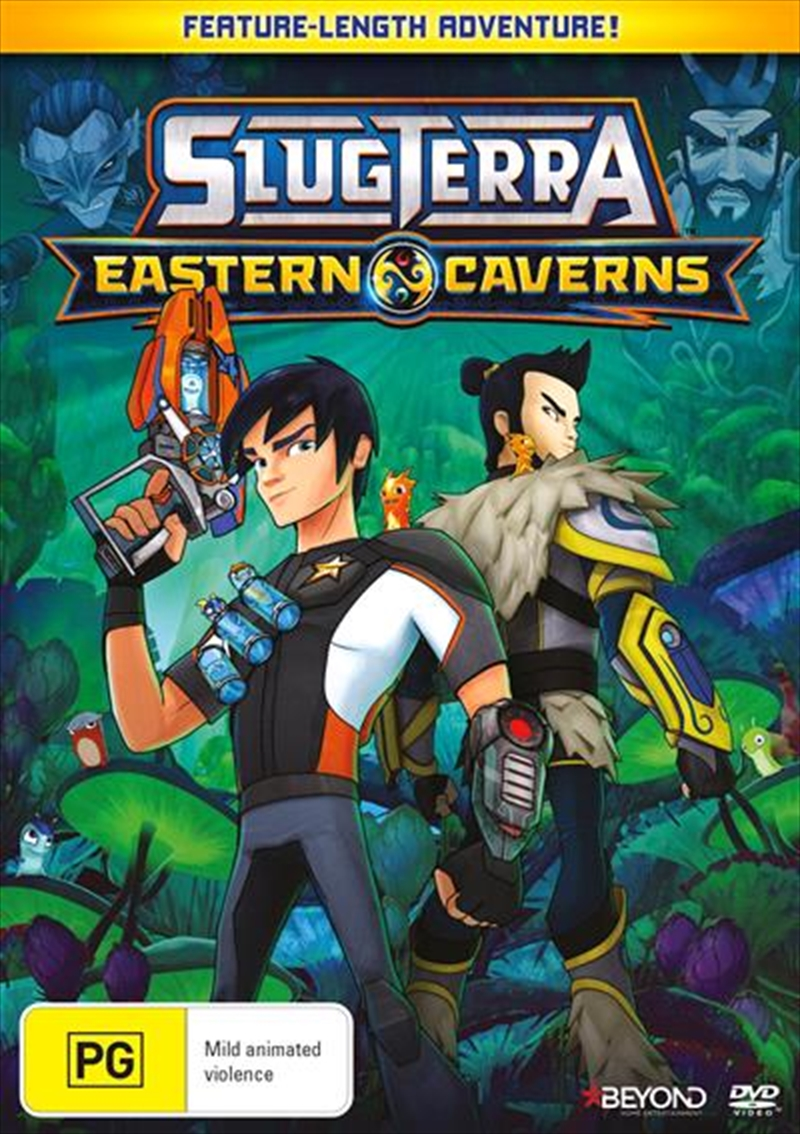 Slugterra - Eastern Caverns | DVD