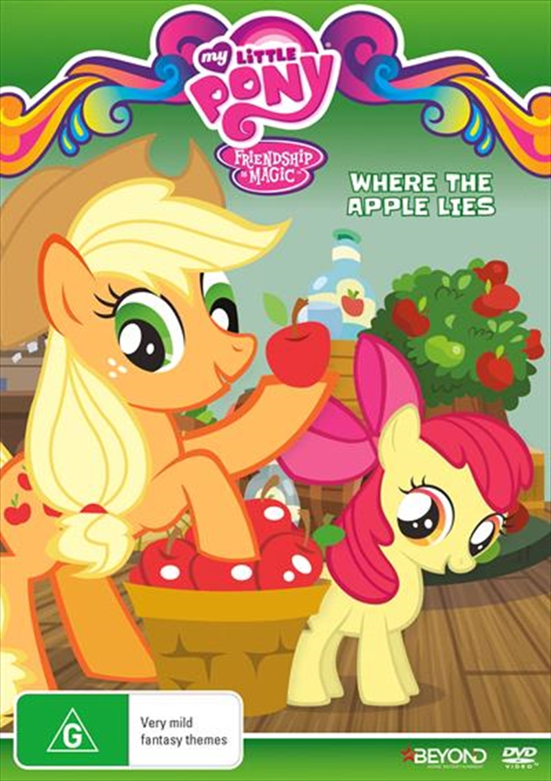 My Little Pony Friendship Is Magic - Where The Apple Lies | DVD